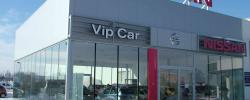 Fasada – Salon samochodowy VIP CAR w Opolu